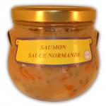 Saumon à la Sauce Normande