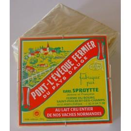 Pont l'Evêque fermier au lait cru Mme Spruytte