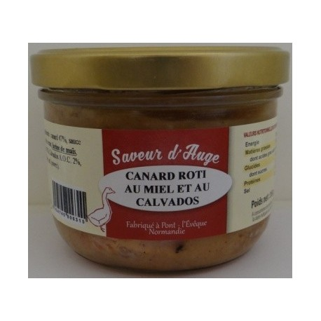 Canard rôti au Miel et au Calvados Saveur d'Auge