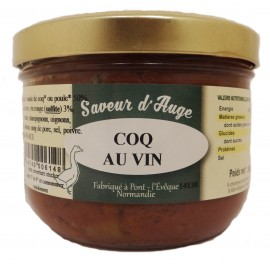 Coq au Vin Saveur d'Auge