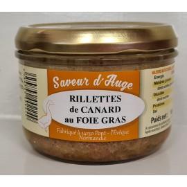Rillettes de Canard au Foie Gras Saveur d'Auge