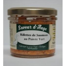 Rillettes de Saumons au Poivre Vert Saveur d'Auge