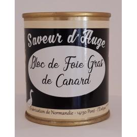 Bloc de Foie Gras de Canard 130g Saveur d'Auge