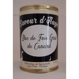 Bloc de Foie Gras de Canard 400g Saveur d'Auge