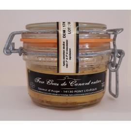 Foie Gras de Canard Entier 100g Saveur d'Auge