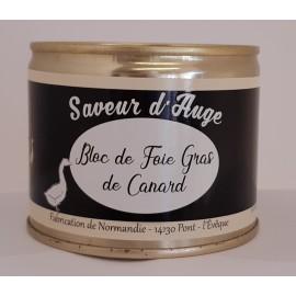 Bloc de Foie Gras de Canard 200g Saveur d'Auge